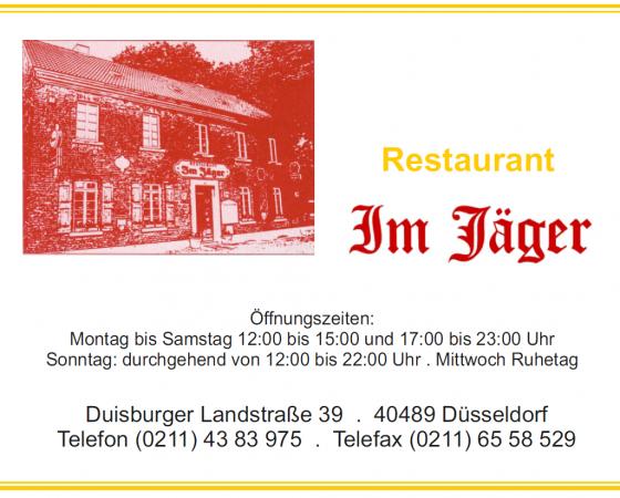 Restaurant Im Jäger