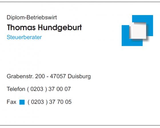 Thomas Hundgeburt – Steuerberater