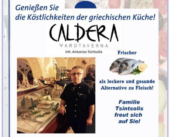 Caldera – Griechisches Restaurant